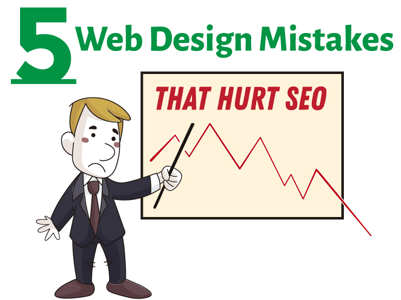 5 Web Design Mistakes That Hurt SEO Banner