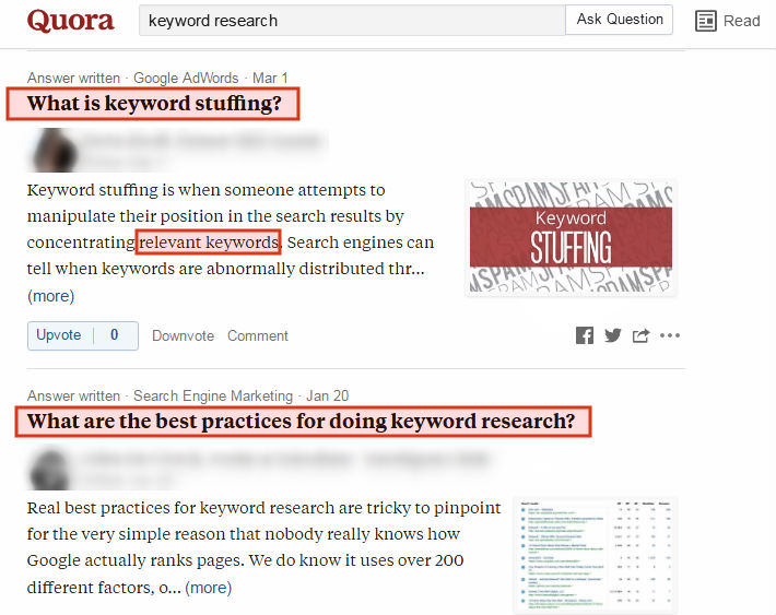 Quora for KR2