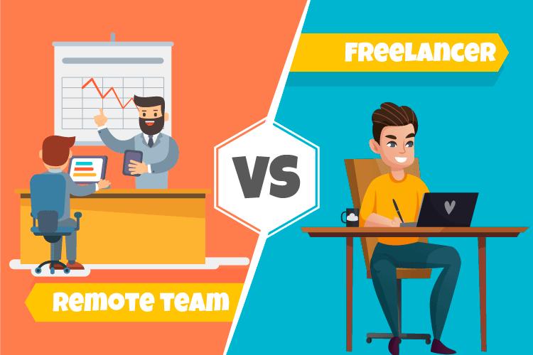 Remote Developer vs Freelancer